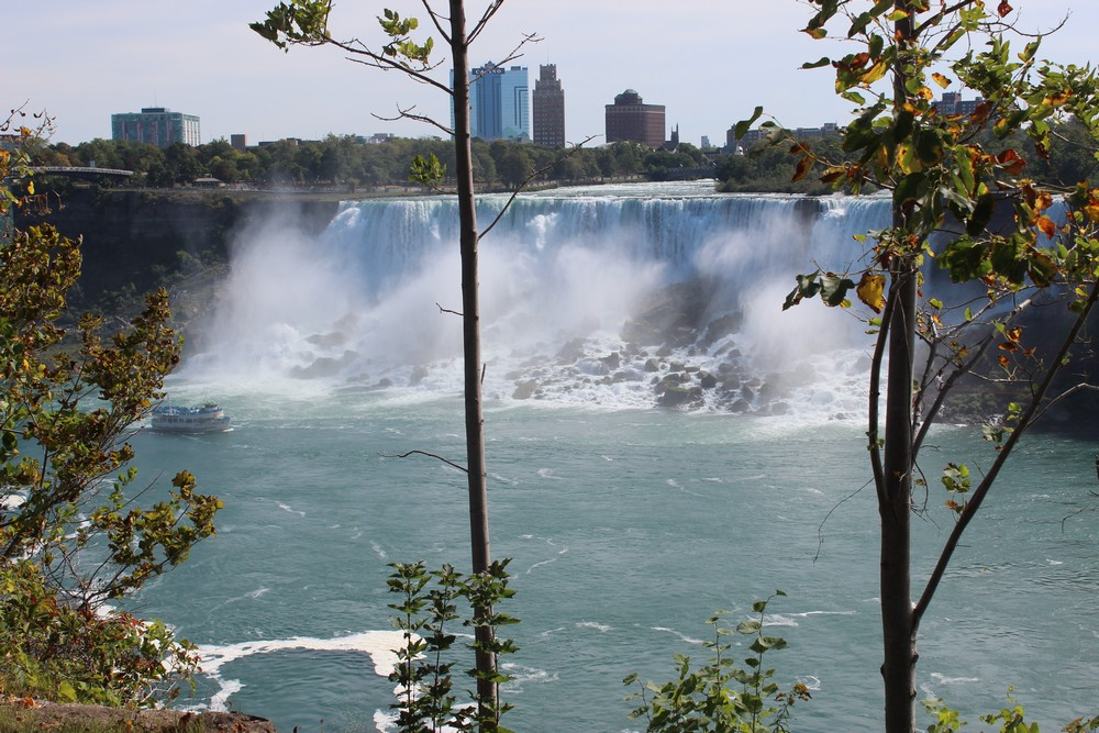 Connor Addis at Niagara Falls